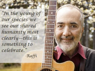 Raffi: Advocate for Children, Earth and Music, by Marilyn Price-Mitchell PhD