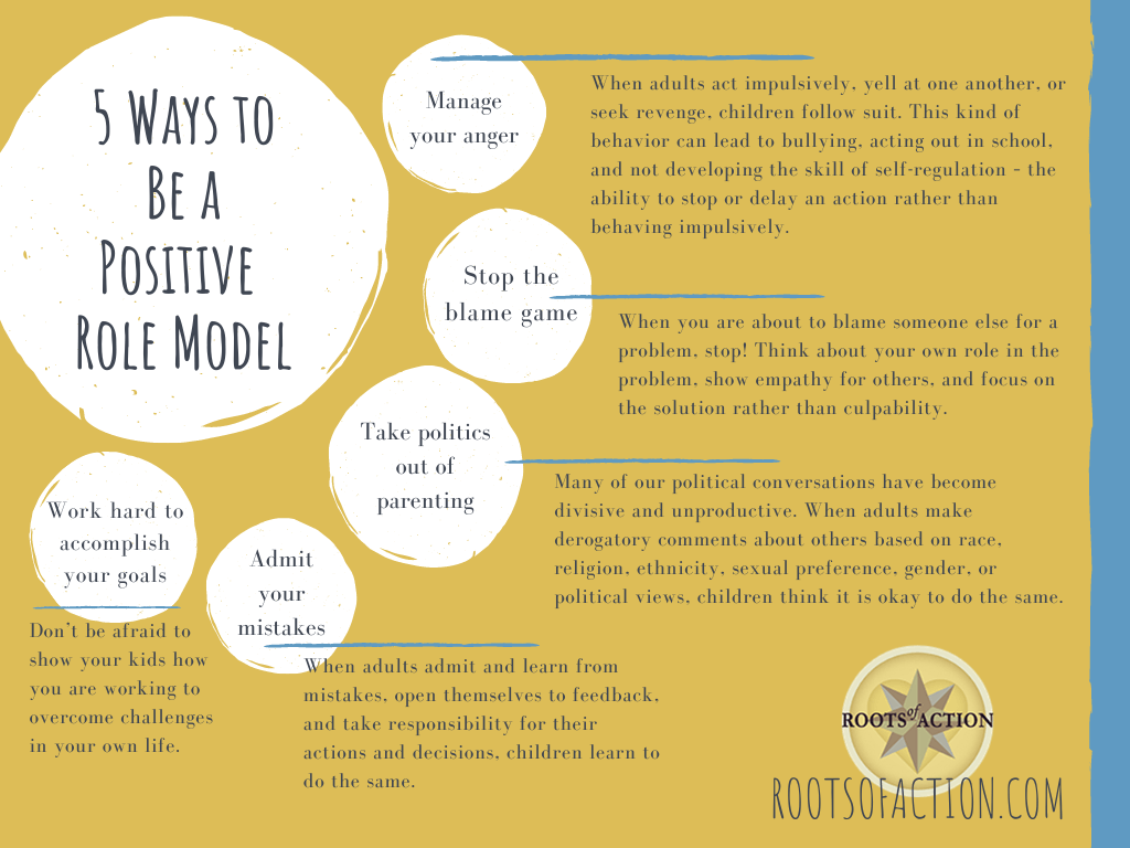 5 Ways to be a Positive Role Model