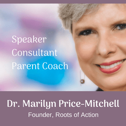Learn about Dr. Marilyn Price-Mitchell, Founder Roots of Action