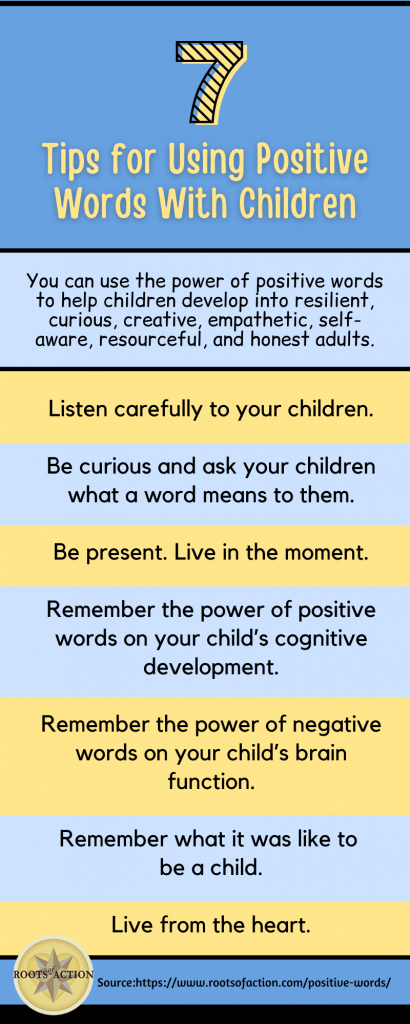 7 Tips for Using Positive Words with Children