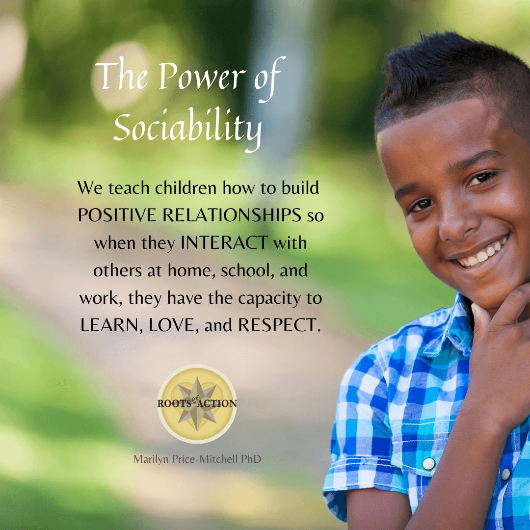 The Power of Sociability